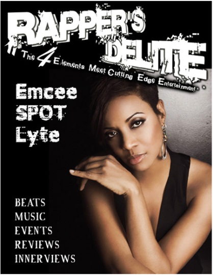 Rapper's Delite Issue 01 Cover MC Lyte
