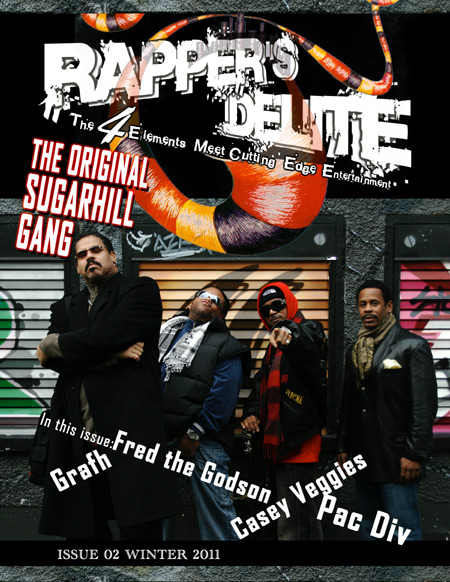 Rapper's Delite Winter 2011 Issue The Original Sugarhill Gang
